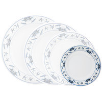 GET M-412-B Water Lily 6 inch Melamine Plate - 12/Pack