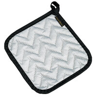 San Jamar 802SPH 7 inch x 7 inch Cotton / Silicone Pot Holder - 12 / Pack