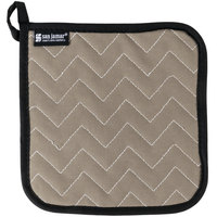 San Jamar 802TF 8 inch x 8 inch BestGuard Terry Cloth Pot Holder - 12/Pack