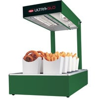 Hatco UGFFL Ultra-Glo Green Portable Food Warmer with Lights - 120V, 870W