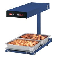 Hatco UGFFBL Ultra-Glo Navy Portable Food Warmer with Base Heat and Lights - 120V, 1120W