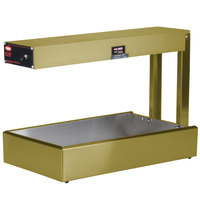 Hatco GRFF Glo-Ray Gleaming Gold 12 3/4 inch x 24 inch Portable Food Warmer - 120V, 500W
