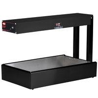 Hatco GRFF Glo-Ray Black 12 3/4 inch x 24 inch Portable Food Warmer - 120V, 500W