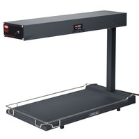 Hatco GRFFB Glo-Ray Gray 12 3/8 inch x 24 inch Portable Food Warmer with Heated Base - 120V, 750W