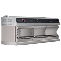 Hatco TFWM-3900 Stainless Steel Wall Mount Food Finisher with Three Top Heating Elements