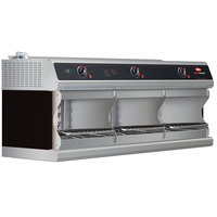 Hatco TFWM-3900 Black Wall Mount Food Finisher with Three Top Heating Elements - 208V, 1 Phase