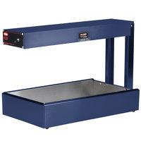 Hatco GRFF Glo-Ray Brilliant Blue 12 3/8 inch x 24 inch French Fry Warmer - 120V, 500W