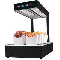 Hatco UGFFL Ultra-Glo Black Portable Food Warmer with Lights - 120V, 870W