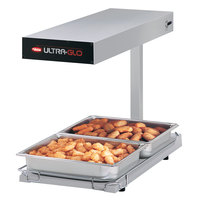 Hatco UGFFBL Ultra-Glo White Portable Food Warmer with Base Heat and Lights - 120V, 1120W