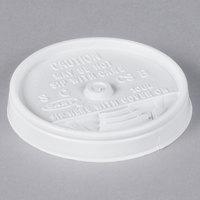 Dart 10UL White Plastic Sip Thru Lid - 1000/Case