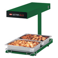 Hatco UGFFBL Ultra-Glo Green Portable Food Warmer with Base Heat and Lights - 120V, 1120W