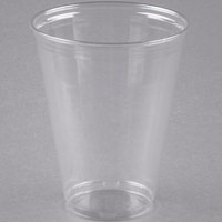 Solo UltraClear TP9D 9 oz. Clear PET Plastic Tall Cold Cup - 50/Pack