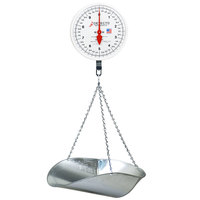 Cardinal Detecto MCS-40DP 40 lb. Hanging Scoop Scale with Double Dial