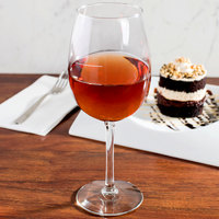 Libbey 7533-1178N Vina 16 oz. Wine Glass with Etched Pour Lines - 12/Case
