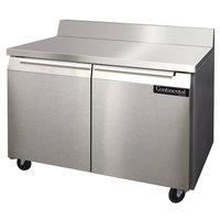 Continental Refrigerator SW48-BS 48 inch Worktop Refrigerator with Backsplash