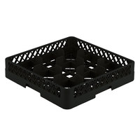 Vollrath TR10 Traex® Full-Size Black 9-Compartment 3 1/4 inch Glass Rack