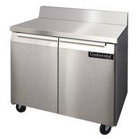 Continental Refrigerator SW36-BS 36 inch Worktop Refrigerator with Backsplash