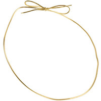 Large 19 inch Gold Candy Box Ribbon - 50/Pack