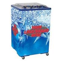 Blue Ice Vault 650 108 qt. Square Merchandiser Cooler