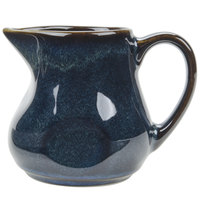 Tuxton GAN-100 Artisan Night Sky 4 oz. China Creamer - 12 / Case