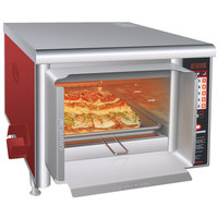 Hatco TF-461R Thermo-Finisher Warm Red Food Finisher with Four Top Elements - 208V, 3 Phase