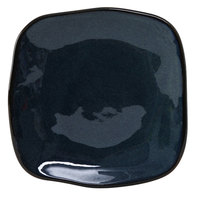 Tuxton GAN-500 TuxTrendz Artisan Night Sky 7 1/4 inch Square China Plate - 12/Case