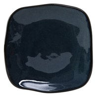 Tuxton GAN-500 Artisan Night Sky 7 1/4 inch Square China Plate - 12 / Case