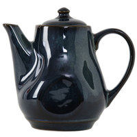 Tuxton GAN-101 TuxTrendz Artisan Night Sky 17 oz. China Tea Pot with Lid - 12/Case