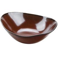 Tuxton GAR-403 TuxTrendz Artisan Red Rock 20 oz. China Capistrano Bowl - 12/Case