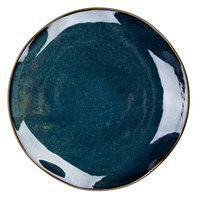 Tuxton GAN-005 TuxTrendz Artisan Night Sky 9 inch China Plate - 24/Case