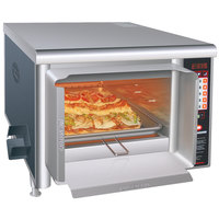 Hatco TF-461R Thermo-Finisher Black Food Finisher with Four Top Elements - 208V, 3 Phase