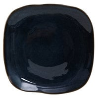 Tuxton GAN-501 Artisan Night Sky 9 inch Square China Plate - 12 / Case