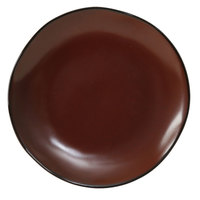 Tuxton GAR-002 TuxTrendz Artisan Red Rock 6 1/2 inch China Plate - 24/Case