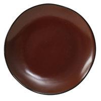 Tuxton GAR-002 Artisan Red Rock 6 1/2 inch China Plate - 24/Case
