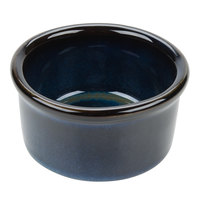 Tuxton GAN-752 TuxTrendz Artisan Night Sky 2.5 oz. China Ramekin - 24/Case