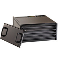 Excalibur D500TB Twilight Black Five Rack Food Dehydrator with Timer - 440W
