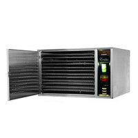 Excalibur COM1 Stainless Steel One Zone Commercial Dehydrator - 2400W