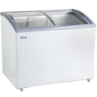 Avantco ICFC9 Curved Lid Display Freezer - 8.8 cu. ft.