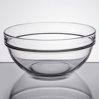 Arcoroc 552E5616 64 oz. Stackable Glass Bowl by Arc Cardinal   - 6/Case