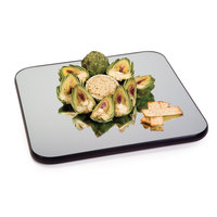 Geneva 272 12 inch Square Rimless Mirror Food Display Tray