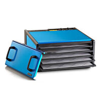 Excalibur D500RB Radiant Blueberry Five Rack Food Dehydrator with Timer - 440W