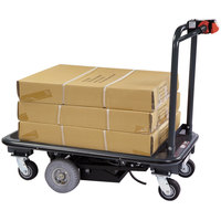 Lakeside 8165 PlusPower Battery Operated Platform Truck - 50 inch x 27 inch x 42 1/4 inch