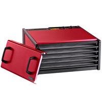 Excalibur D500RC Radiant Cherry Five Rack Food Dehydrator with Timer - 440W
