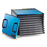 Excalibur D900RB Radiant Blueberry Nine Rack Food Dehydrator with Timer - 600W