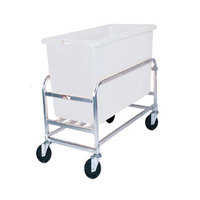 Winholt 30-8-AL/WH Aluminum Bulk Mover with 8 Bushel White Tub