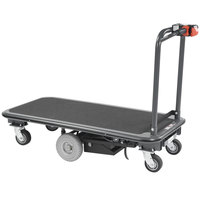 Lakeside 8180 PlusPower Battery Operated Platform Truck - 56 1/2 inch x 27 inch x 42 1/4 inch