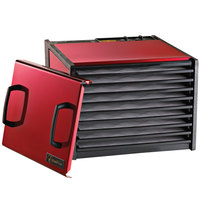 Excalibur D900RC Radiant Cherry Nine Rack Food Dehydrator with Timer - 600W