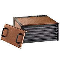 Excalibur D500AC Antique Copper Five Rack Food Dehydrator with Timer - 440W