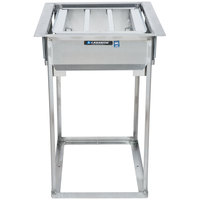 Lakeside 976 Stainless Steel Drop-In Tray Rack Dispenser - 23 1/4 inch x 19 3/8 inch x 28 1/4 inch