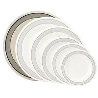 GET WP-12-CA 12 inch Diamond Cambridge Wide Rim Plate   - 12/Case